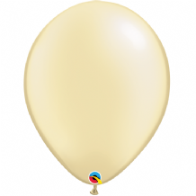 "Qualatex 16 inch Balloons - Pearl Ivory 16"" Balloons (10pcs)"